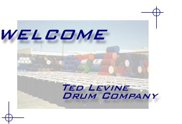 Ted Levine Drum Company - Welcome Page